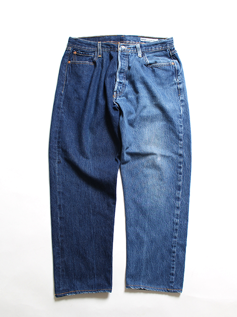 REMAKE 2FOR1 DENIM PANTS SUNNY SIDE UP-SIZE3 TYPE D デニムパンツ サニーサイドアップ