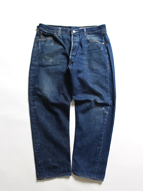 REMAKE 2FOR1 DENIM PANTS SUNNY SIDE UP-SIZE3 TYPE E デニムパンツ サニーサイドアップ