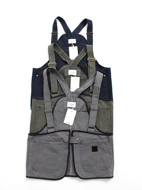 REMAKE DUCK VEST DARK COLOR yoused リメイクダックベストダークカラー
