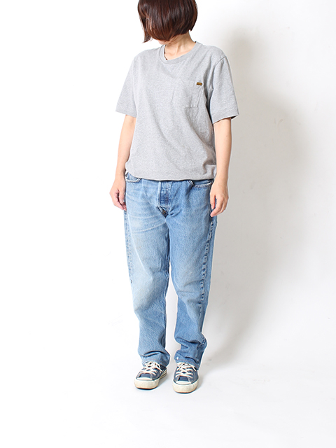 REMAKE 2FOR1 DENIM SUNNY SIDE UP-SIZE2 TYPE B サニーサイドアップ