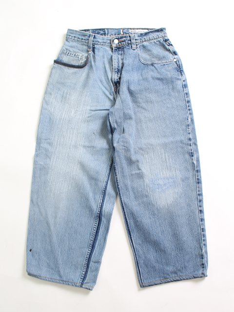REMAKE 2FOR1 LOOSE DENIM PANTS SIZE1 SUNNY SIDE UP- サニーサイドアップ
