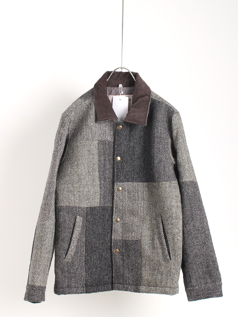TWEED REMAKE COACH JACKET yoused ツイードリメイクコーチジャケット ユーズド