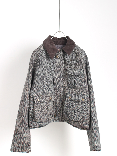TWEED REMAKE WADING JACKET yoused ツイードリメイクウェーディングジャケット ユーズド