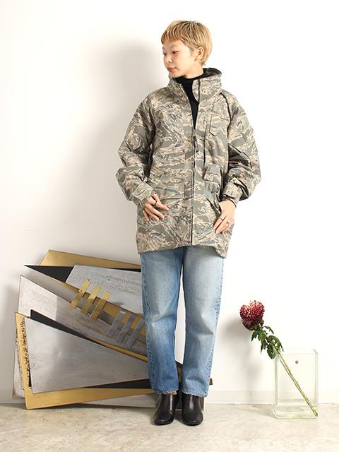 アメリカ空軍デジタルタイガーカモゴアテックスジャケット