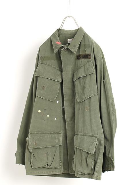 アメリカ軍ジャングルファティーグシャツS-Rサイズ