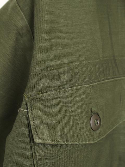 アメリカ軍OG-107ファティーグ半袖シャツ