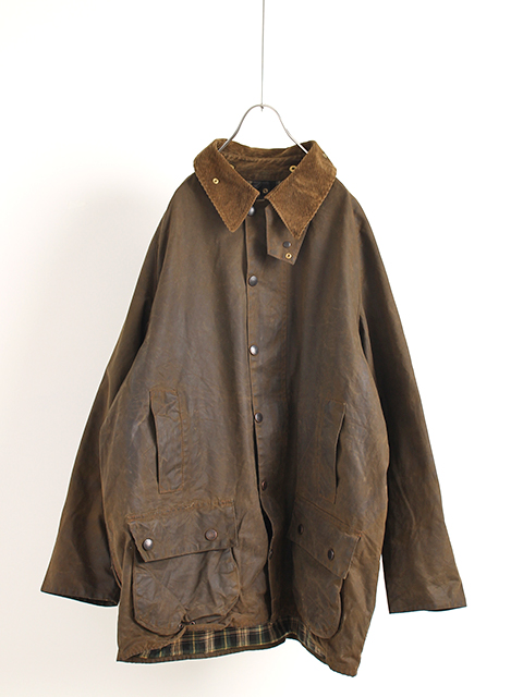 VINTAGE 3WARRANT BARBOUR MOORLAND C50ヴィンテージ3ワラントバブアームーアランド