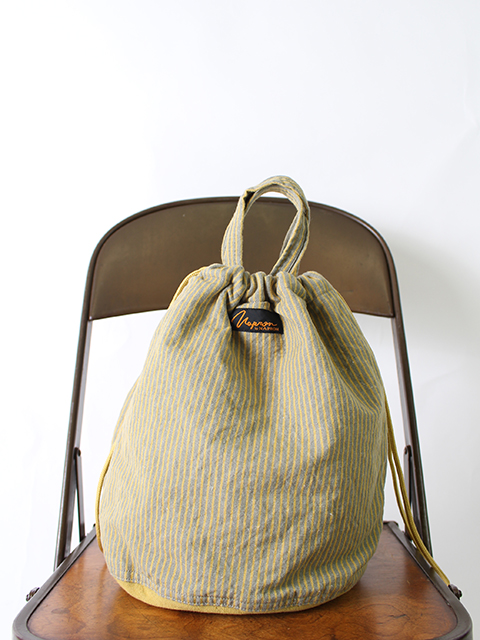 YELLOW STRIPE PATIENTS BAG NAPRON イエローストライプペイシェントバッグ