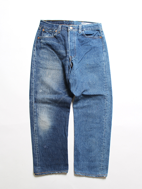 REMAKE 2FOR1 DENIM PANTS SUNNY SIDE UP-SIZE1 TYPE B デニムパンツ サニーサイドアップ