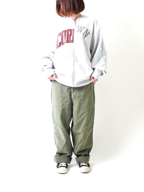 REMAKE 2FOR1 FATIGUE PANTS SUNNY SIDE UP-SIZE1 サニーサイドアップ