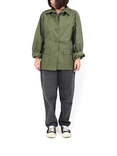 US ARMY WOMEN'S UTILITY SHIRT 70s アメリカ軍 ユーティリティーシャツ