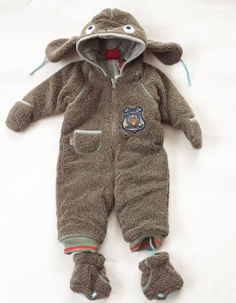 OILILY オランダで見つけた懐かしい Baby 防寒着 62サイズ