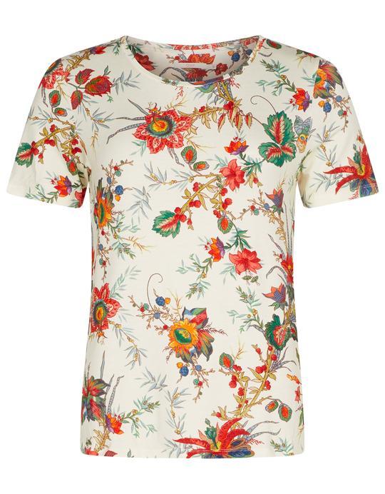 OILILY大人【19STSS4033】Tシャツ フローラル Sサイズ