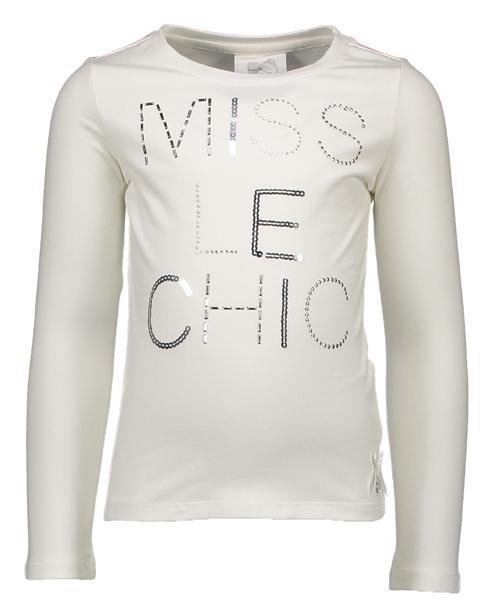 【Le Chic】 Tシャツ Miss Le Chic<白> 92/98/104/110/116/128/140サイズ★特別価格★