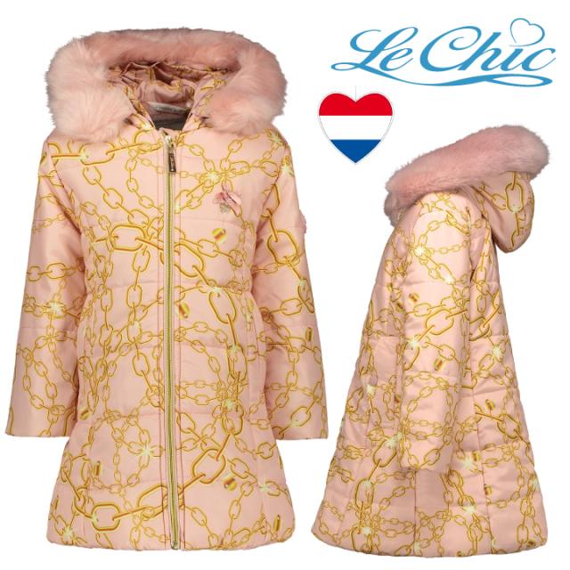 【Le Chic ルシック】アウター コート ロングコートChain&Charm 128 140 152 サイズ