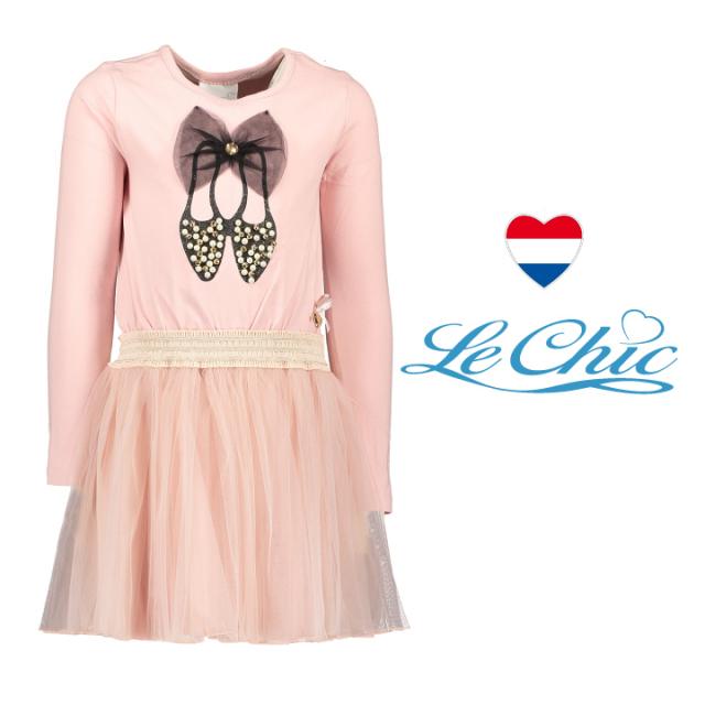 【Le Chic ルシック】ワンピース チュチュスカート バレリーナ バレエシューズ 116 128 140 152 サイズ