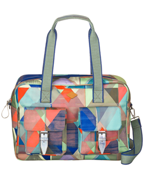 OILILY【OES7511-999】Back to school キャリーオール Multicolor