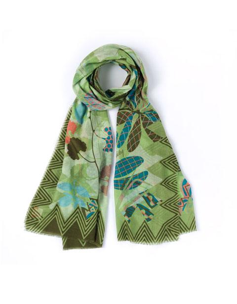 【OSC7101-730】Oilily Botanic Pop Nori Green
