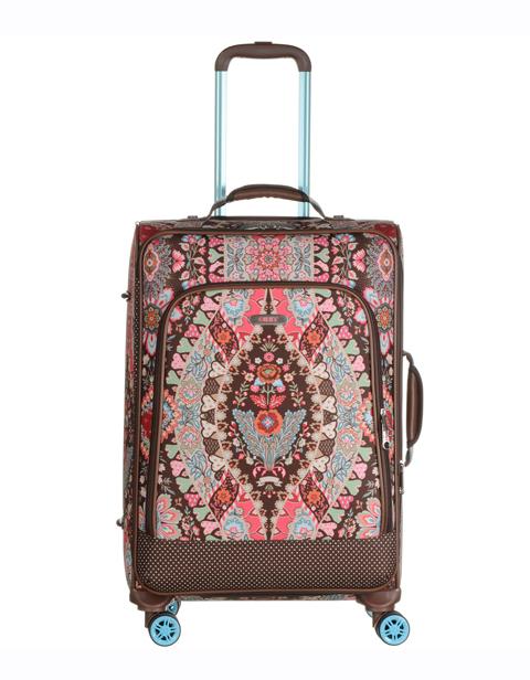 【OTR4507-829】Travel Softshell Trolley M Brown