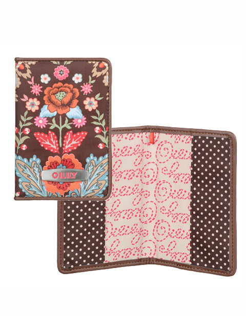 【OTR4519-829】Travel Passport holder Brown