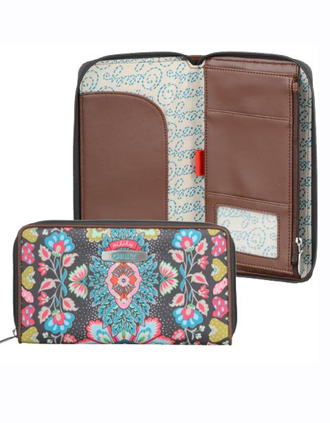 【OTR4520-013】Travel Travel Organizer Wallet Charcoal