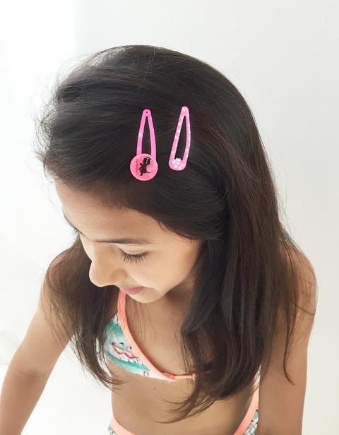 Hair Clip イップとヤネケシリーズ(タッキー&シッピー)PINK 【ゆうメール可】