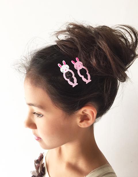 Hair Clip Usagi 2柄  【ゆうメール可】