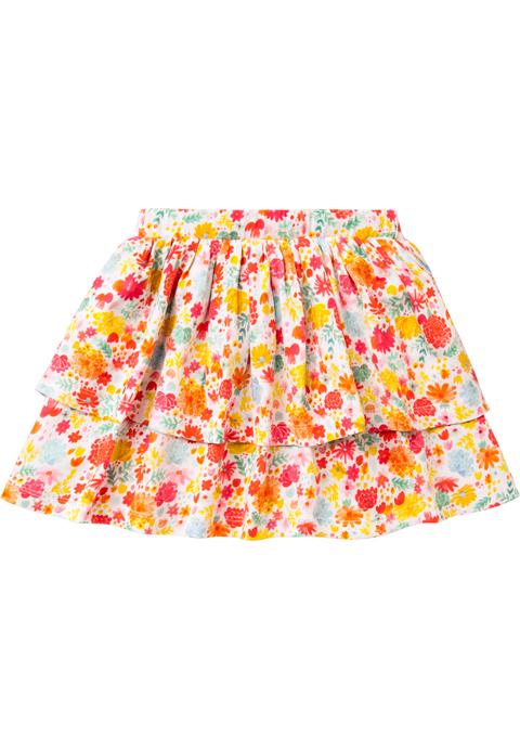 ルームセブン【S18GJE006】カット素材スカート 92/104サイズ