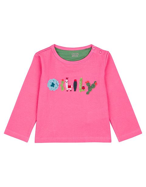 OILILY【YF18GJE005】OILILYロゴTシャツ 74 80 92 104 116 128サイズ