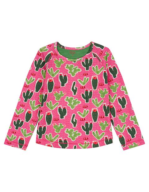 OILILY【YF18GJE216】PINKサボテンTシャツ 92 104 116 128 140 152サイズ