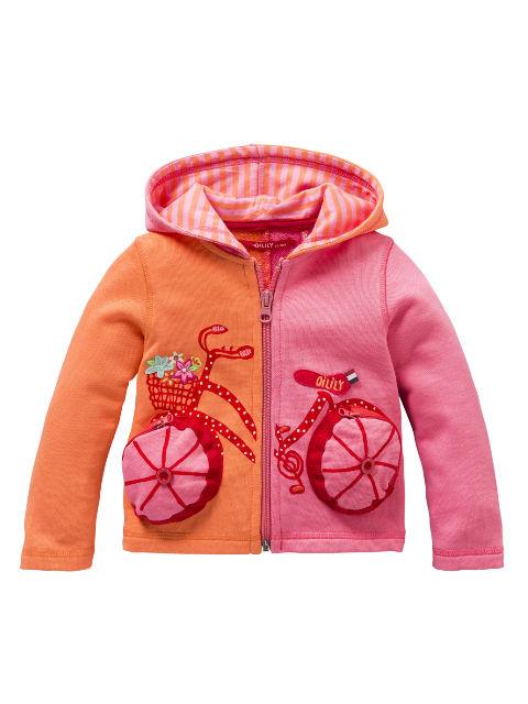 【YS14GHJ812】自転車パーカー 80サイズ