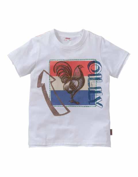【YS16BJE502】COCK Tシャツ  104/116サイズ
