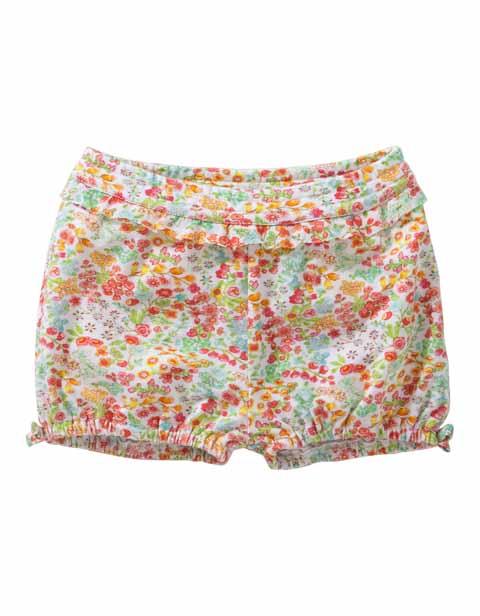 【YS16GPA083】小花柄カット素材ショートパンツ  74サイズ