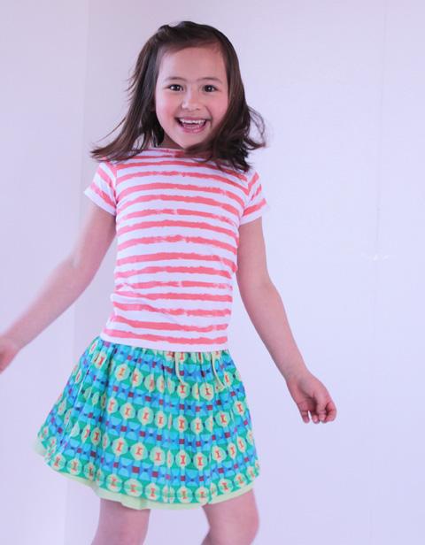 【YS16GSK081】オイリリーロゴロゴスカート  80 104サイズ