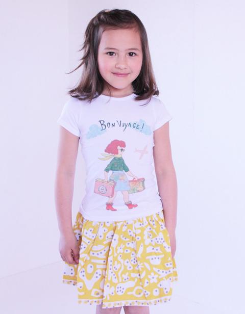 OILILY【YS16GSK207】リトルアーティストスカート  92 104 116 128サイズ