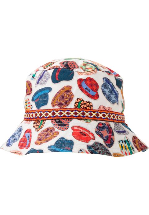 OILILY【YS18BAC501】帽子柄HAT3(~53cm)/4(~60cm)サイズ