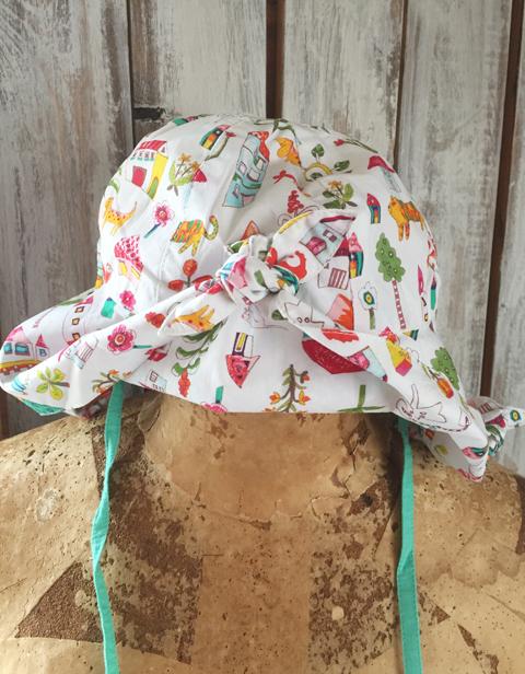 OILILY【YS18GAC205】Oililyハウス柄帽子 ~50cm