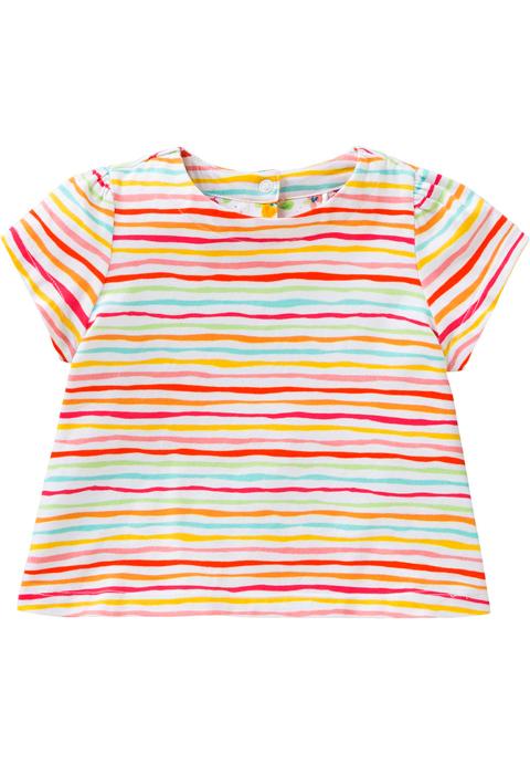 OILILY【YS18GJE006】マルチボーダーTシャツ 92/104/116/128サイズ