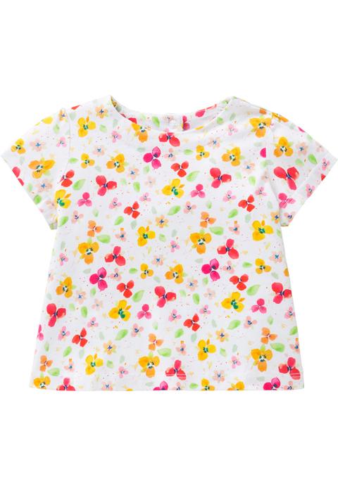 OILILY【YS18GJE007】花柄AラインTシャツ 128サイズ
