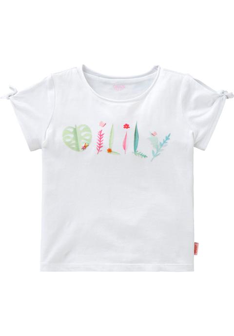 OILILY【YS18GJE201】OILILYロゴリーフモチーフTシャツ 92/104サイズ