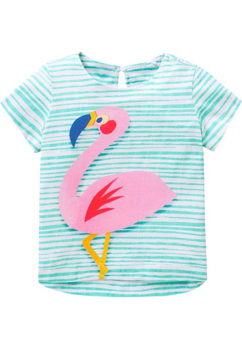 OILILY【YS18GJE203】フラミンゴプリントTシャツ 140サイズ