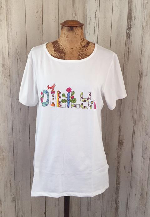 OILILY【YS18GJE213J】オイリリーロゴTシャツ ジュニア 164/176サイズ