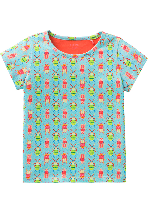 OILILY【YS18GJE216】昆虫柄Tシャツ 104/116/128/140サイズ
