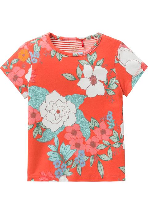 OILILY【YS18GJE217】花柄プリントTシャツ 104サイズ