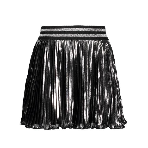 【Le Chic】メタリック プリーツスカート116/128/140/152サイズ