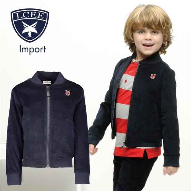 【LCEE】 ジャケット コーデュロイ素材 ストレッチ入 116 128 140 152 サイズ