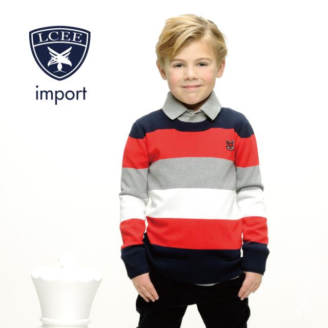 【LCEE】 プルオーバー セーター 116 128 140 152 サイズ