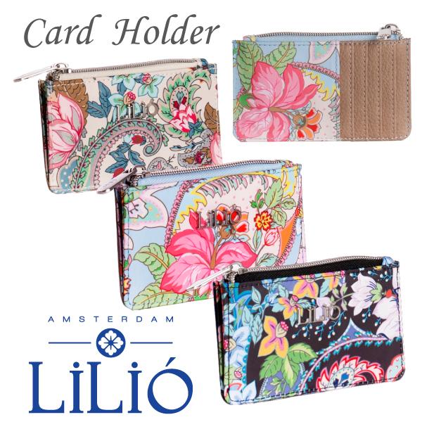 LiliO リリオ クレジットカードウォレット ミニ財布 【LIL0215】