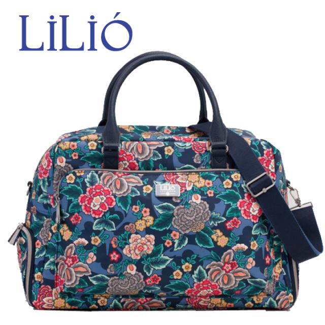 LiLiO【LIL9518】大型ボストンバッグ シューズ入れ付き