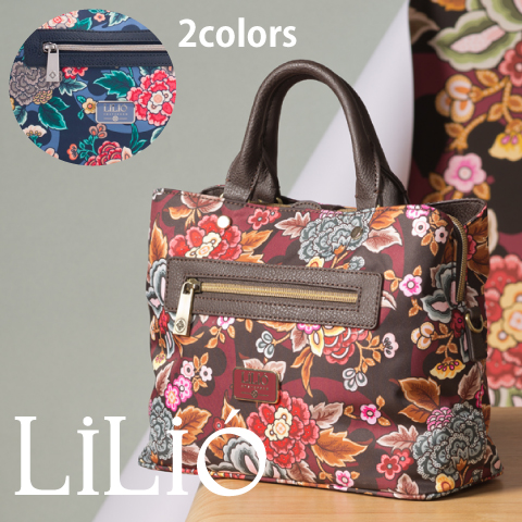 LiLiO【LIL9522】ハンドバッグ 2WAY